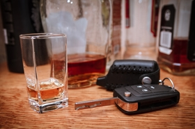 Alcohol and car keys - San Bernardino DUI Attorney